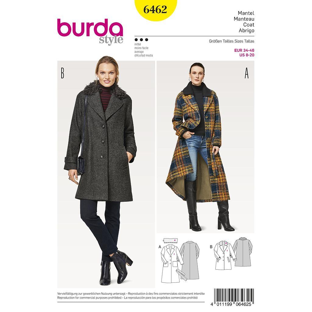 Patron Burda, blazer court, taille: 36 46 | Veste et