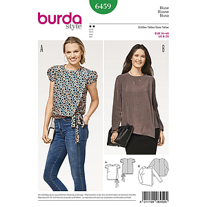 Patron Burda 6459 Blouse