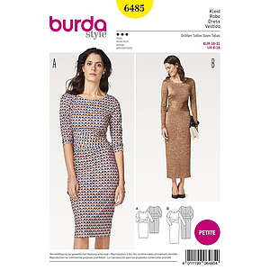 Patron Burda 6485 Robe