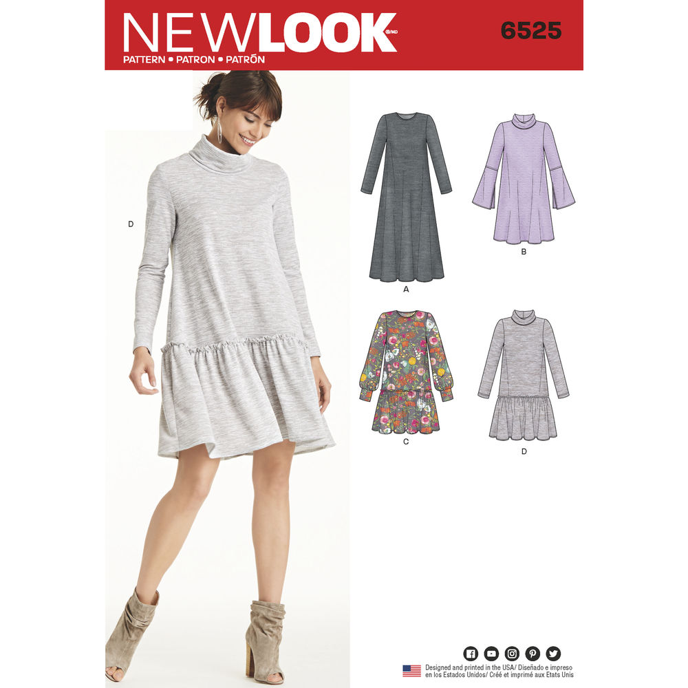 Patron New Look 6525 Robe