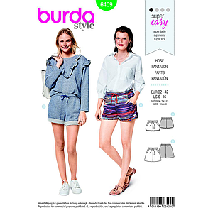 Patron Burda 6409 Shorts