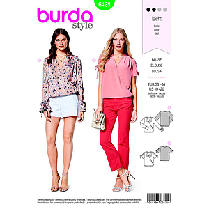 Patron Burda 6425 Blouse