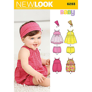 Patron New Look 6293 Ensemble bébé