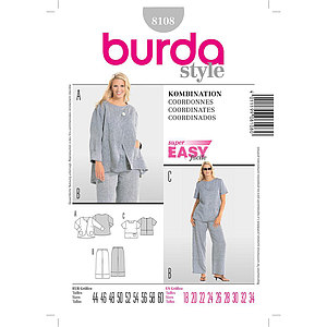 Patron Burda 8108 Ensemble