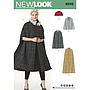 Patron New Look 6535 Veste et manteau